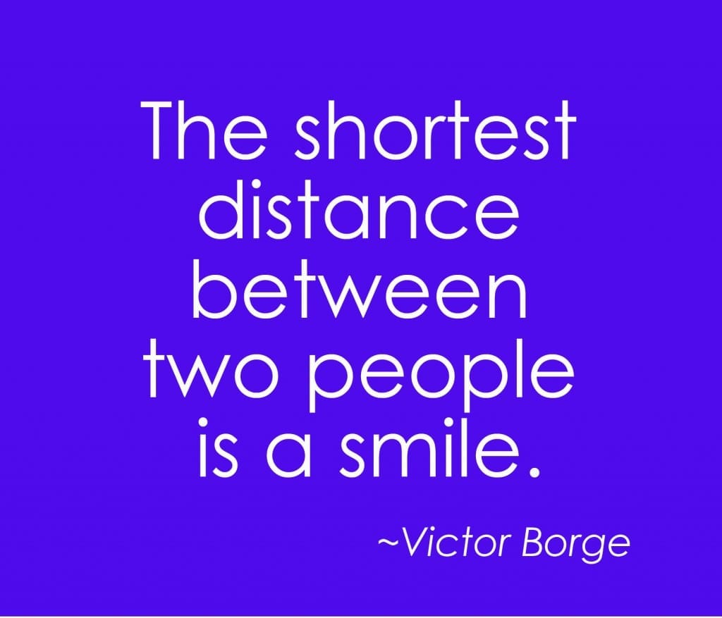 shortest distance between two people