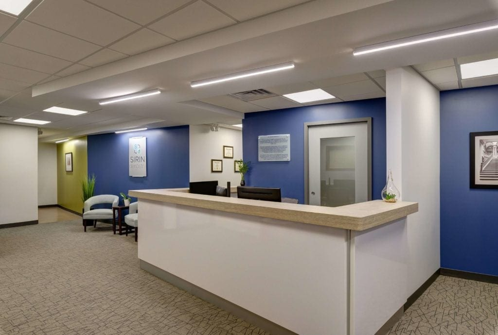 Interior photo of Dr. Sirin's office