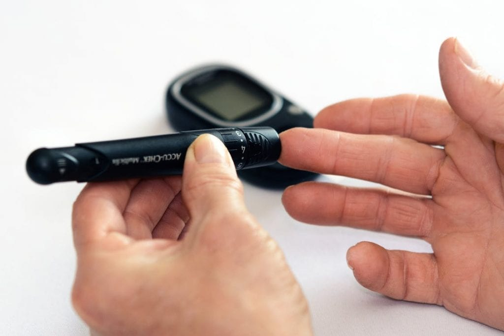 finger with diabetes test for elgin dentist blog