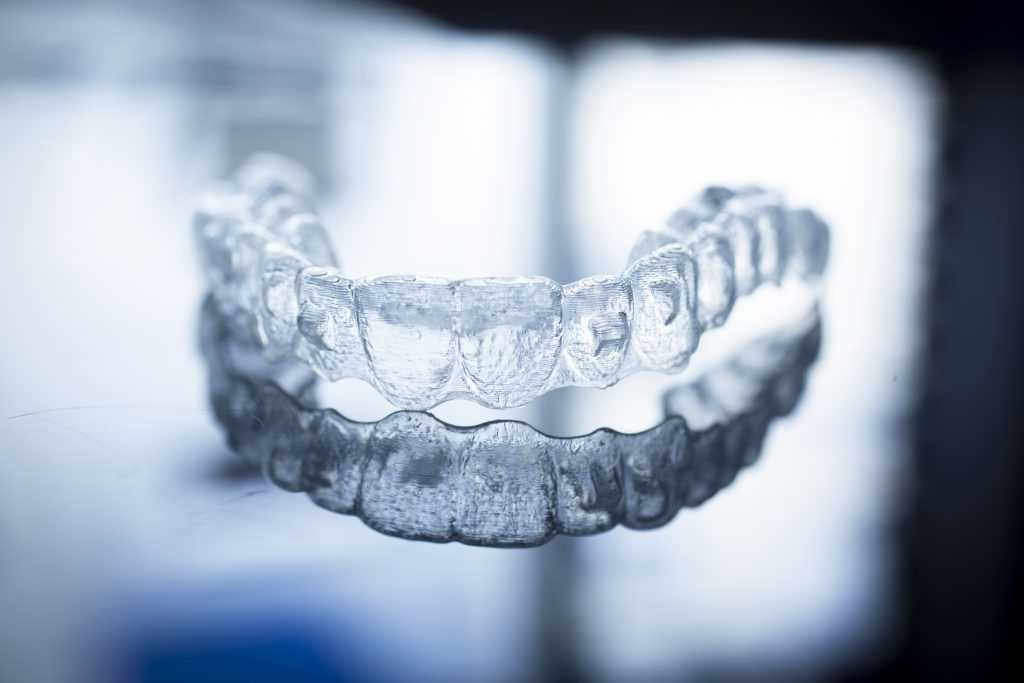 invisalign with crown patient aligner