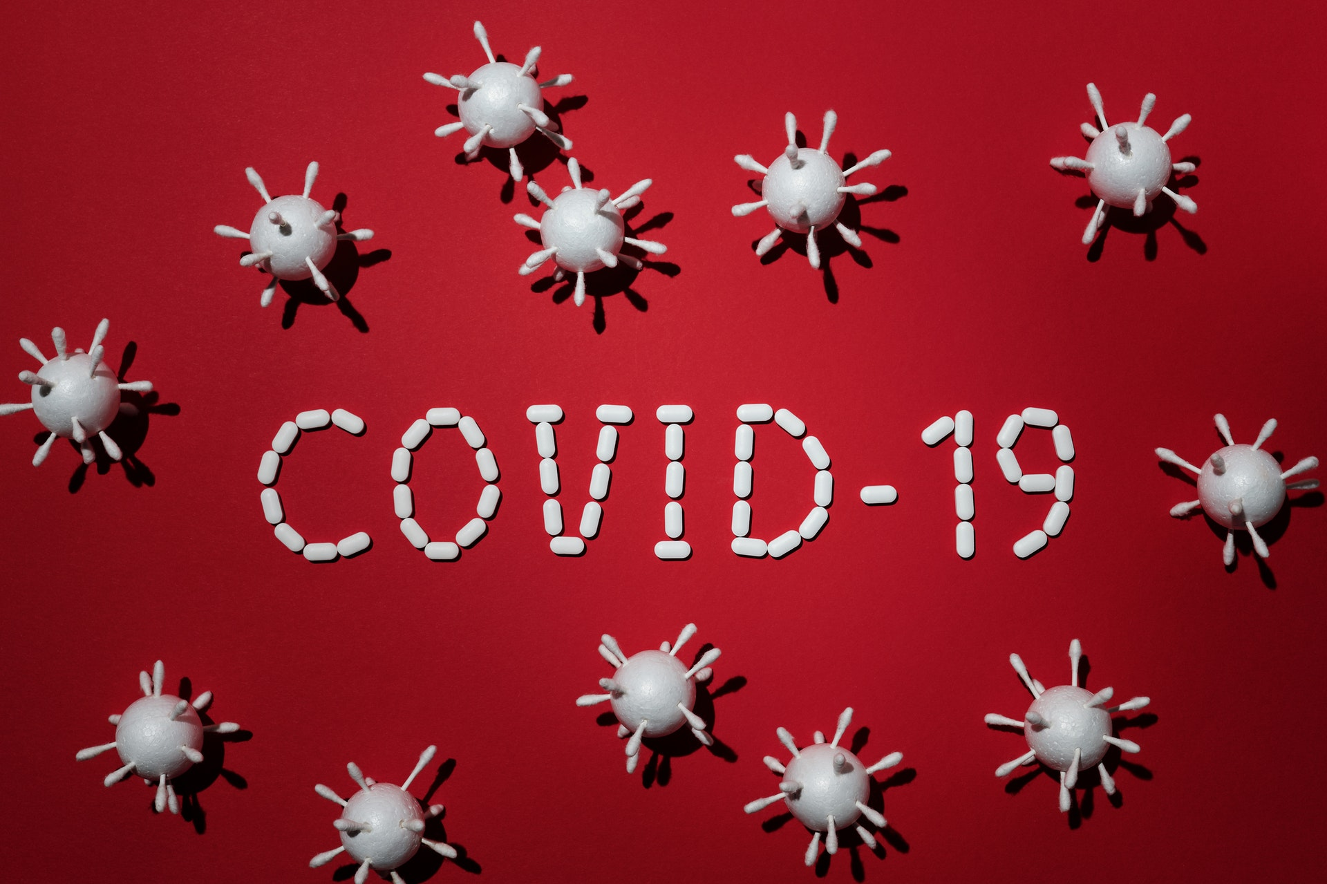 COVID-19 image of virus for dental emergency blog